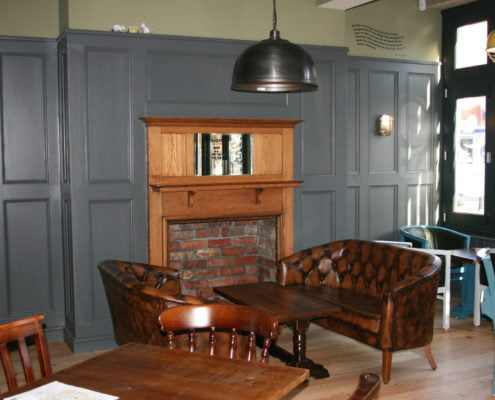 Evesham Electrical Wall features and furniture