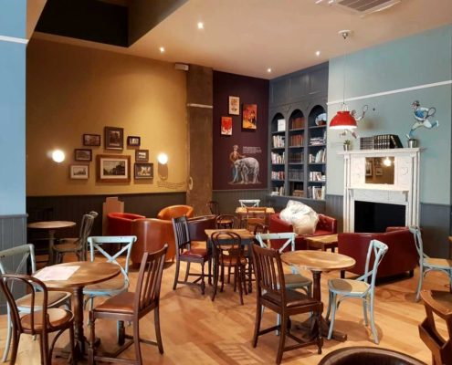Leamington Spa Coffee #1 - An inviting space to sit and relax with a cup of coffee.