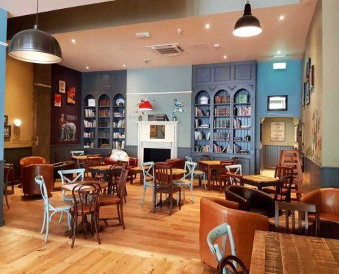 Leamington Spa Coffee #1 - Light, colourful and cosy.