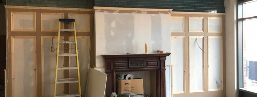 electrical wokingham fire surround progress